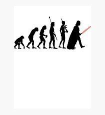 Dark side of Evolution Photographic Print