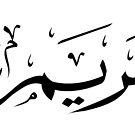 Maryam (Arabic for Mary/Miriam/Maria) by Omar Dakhane