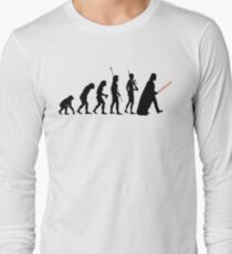 Dark side of Evolution Long Sleeve T-Shirt