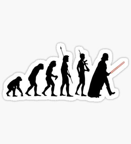 Dark side of Evolution Sticker