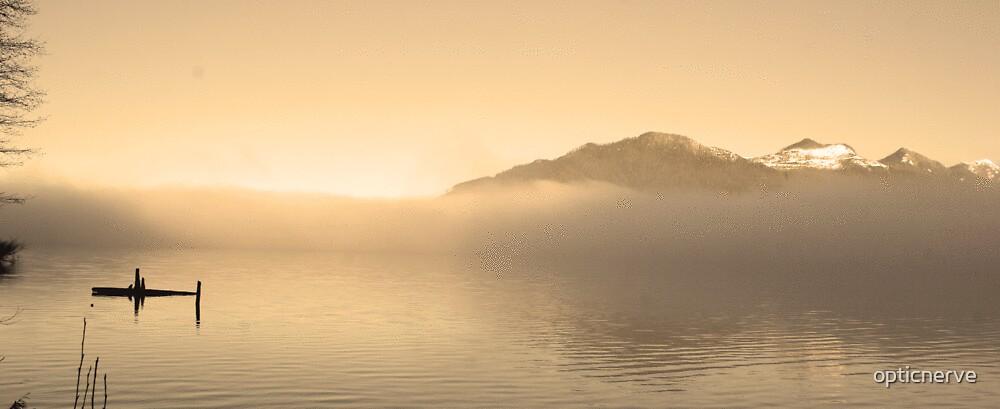 solitude morning by opticnerve