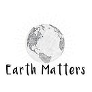 Earth Matters - Scribble Earth Art - Gray by jitterfly