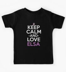 Elsa Inspired Anime Shirt Kids Tee