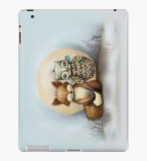fox and owl iPad Case/Skin