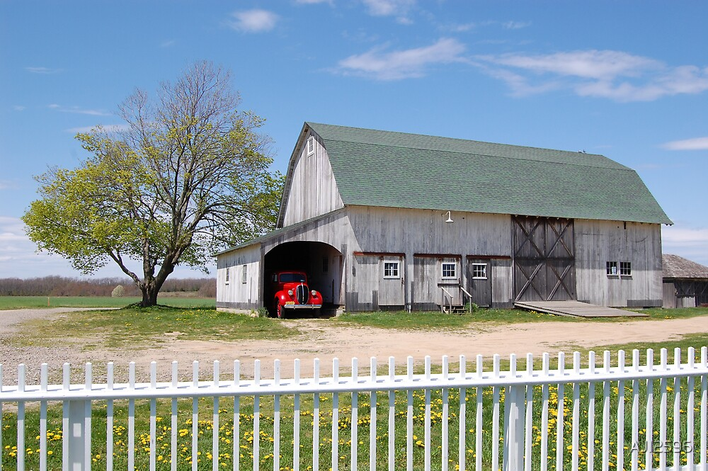 Beautiful Barn by AJI2596