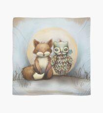 Fuchs und Eule Tuch