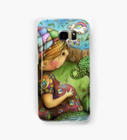 There's an Elephant in my Garden Samsung Galaxy Case/Skin