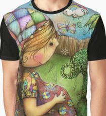 There's an Elephant in my Garden Graphic T-Shirt
