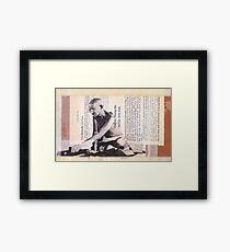 Mohandas Gandhi Framed Print