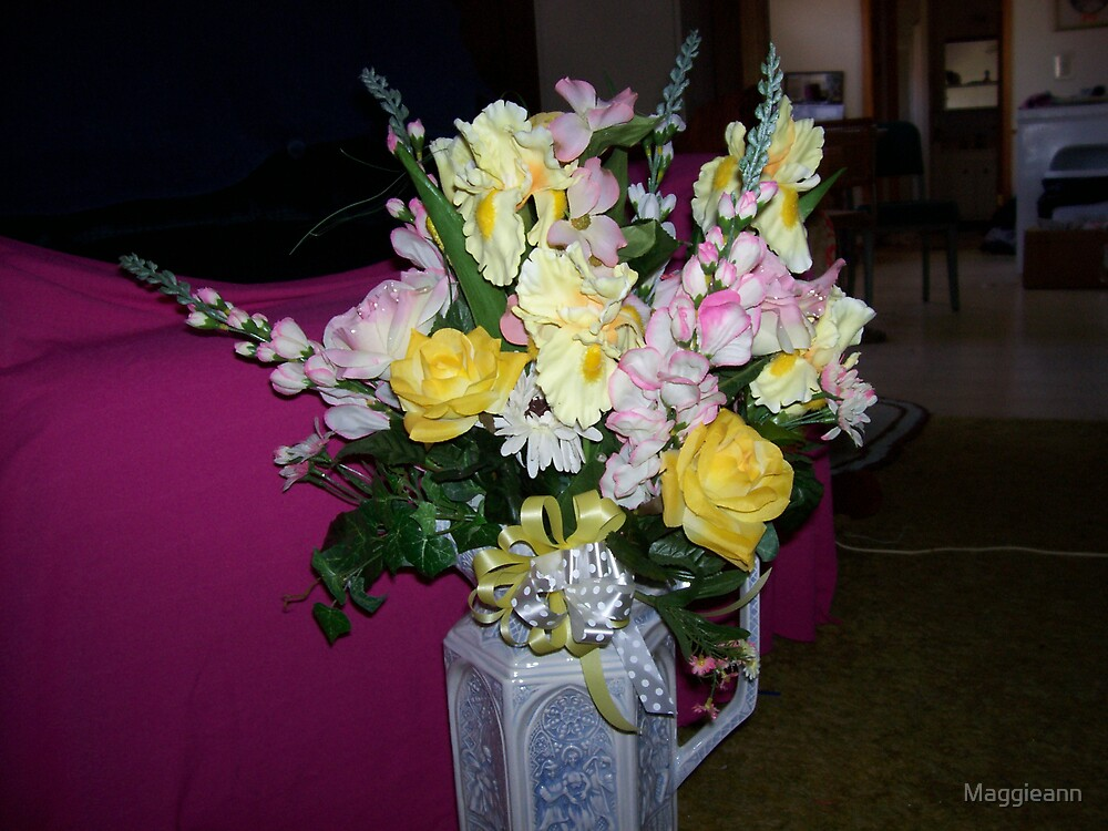 Easter Floral arrangement by Maggieann