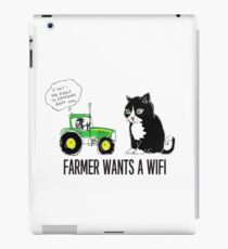 Farmer wants a WiFi iPad Case/Skin