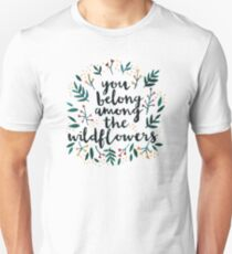 Among the Wildflowers T-Shirt
