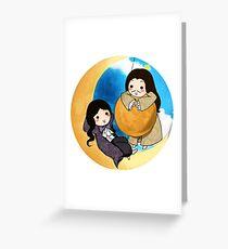 The Sun & The Moon Greeting Card