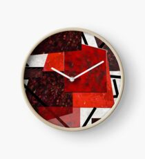 Throw Sticks Clock