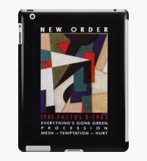 Joy Division New Order Factus 8 shirt iPad Case/Skin