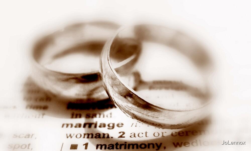 Matrimony by JoLennox