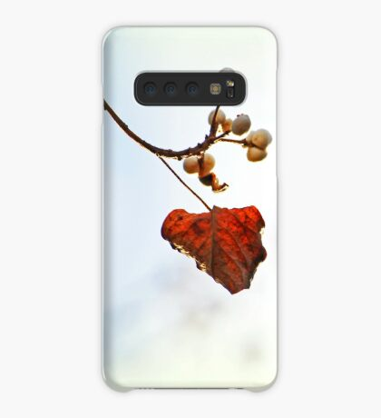 Herbst Flüstern Hülle & Klebefolie für Samsung Galaxy