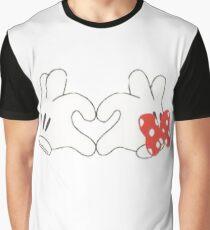 Mickey & Minnie Love Graphic T-Shirt