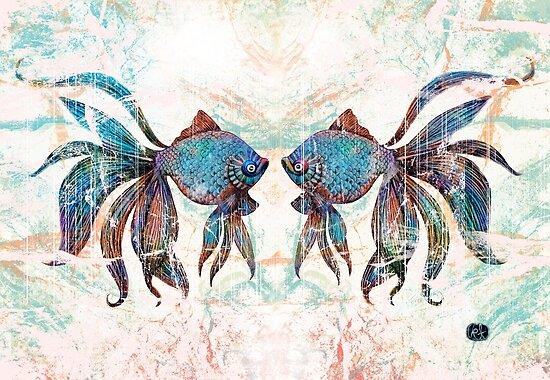 rainbow fish by Karin Taylor