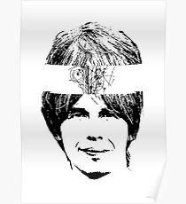 Mann mit Atomgehirn Poster