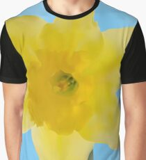 Yellow jonquil mesh flower Graphic T-Shirt
