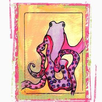 Ozzie The Octopus by artpaw