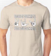 Eagles of Death Metal | Peace Love Death Metal Unisex T-Shirt