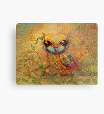 The Love Bird Metal Print