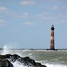 Morris Island Lighthouse by Tibby Steedly