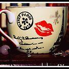 Rose Quartz And A Tea Cup by Evita