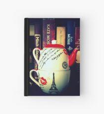 Tee für einen Notizbuch