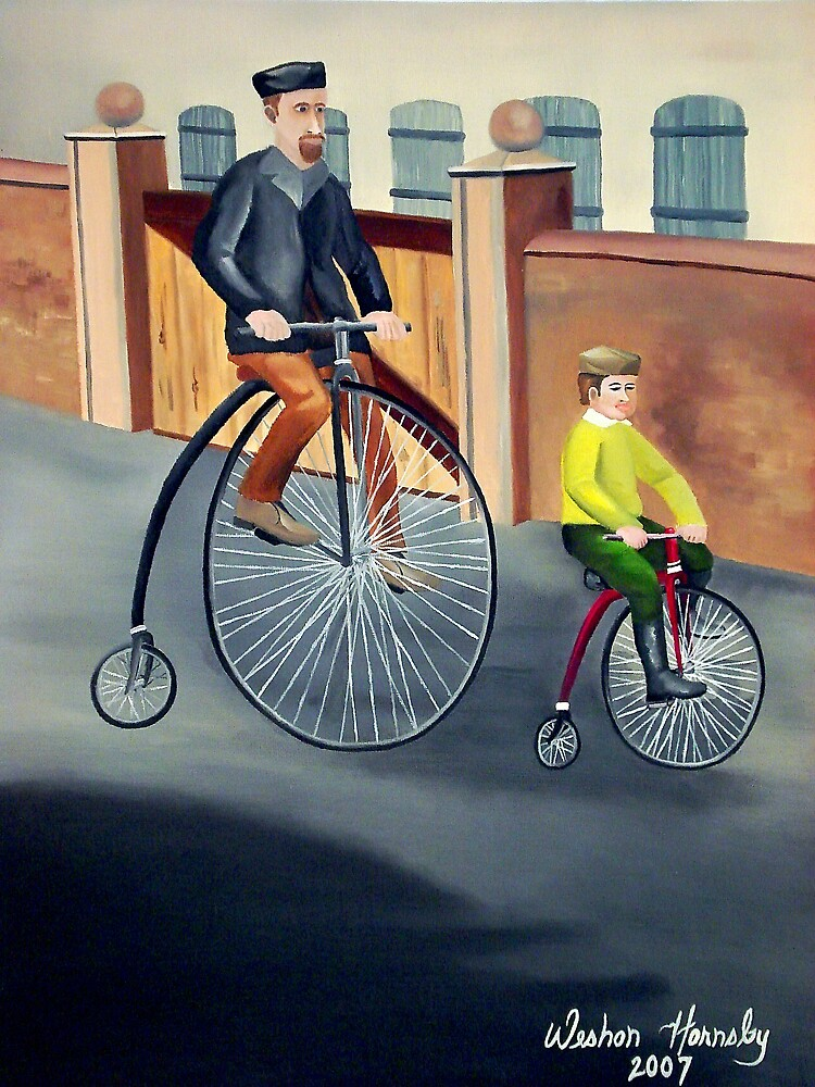 Father and Son Out For A Ride by Weshon  Hornsby