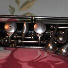 Vintage Oboe - Key Detail by MidnightMelody