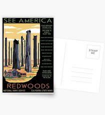 Nationalparks 2050: Redwoods Postkarten