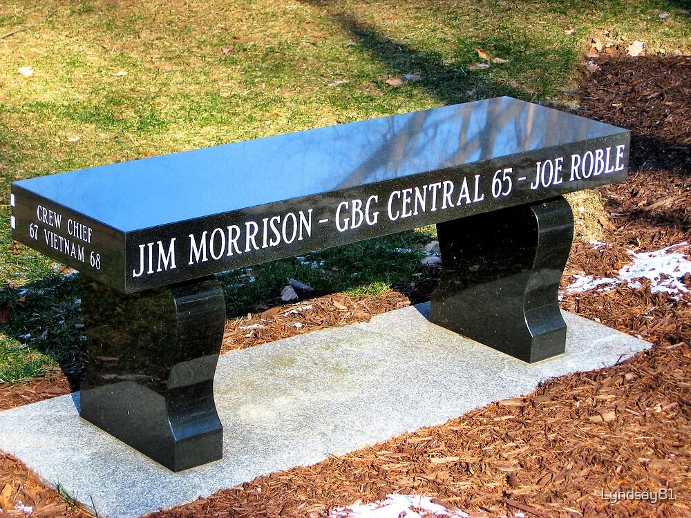 Vietnam Memorial Bench by Lyndsay81