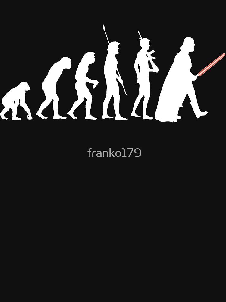 Die dunkle Seite der Evolution - Weiß von franko179