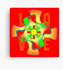 another type of love colourful clothing Canvas Print