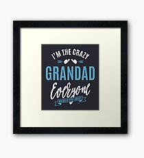 Crazy Grandad Framed Print