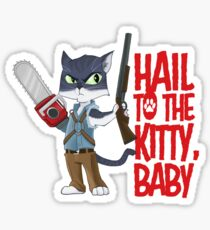 Army of Catness Sticker