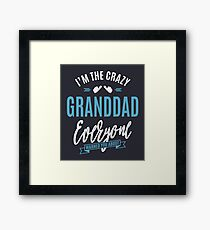 Crazy Granddad Framed Print