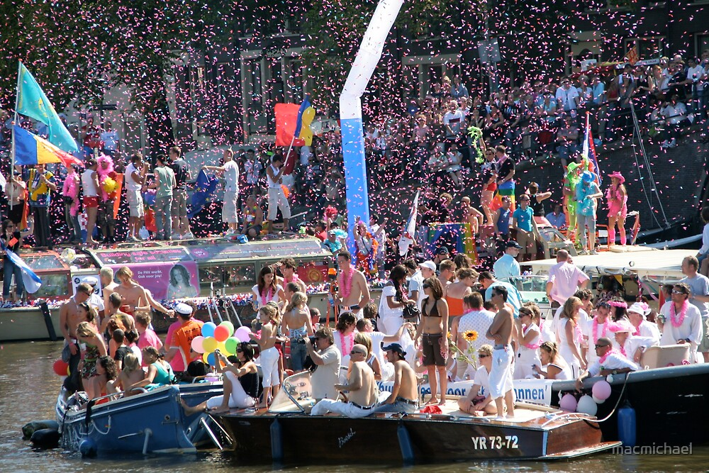 Gay pride Amsterdam by macmichael