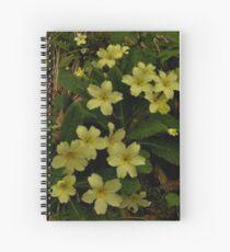 Primrose, Drumlamph Wood, County Derry Spiral Notebook