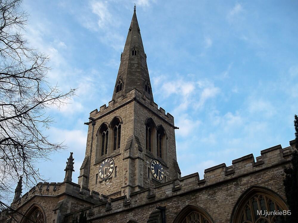 church and sky by MJjunkie86