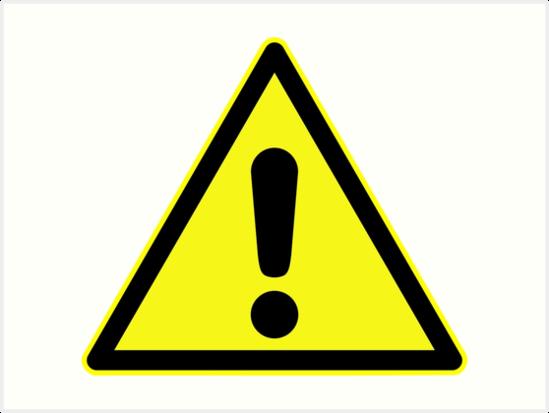 Imagini pentru WARNING SIGN