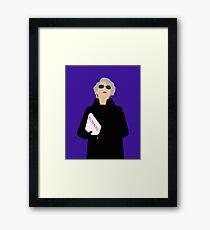 Miranda Priestly- The Devil Wears Prada Framed Print