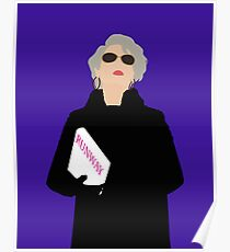 Miranda Priestly- The Devil Wears Prada Poster