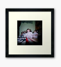 Creepy Dolls Framed Print