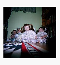 Creepy Dolls Photographic Print