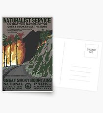 Nationalparks 2050: Great Smoky Postkarten