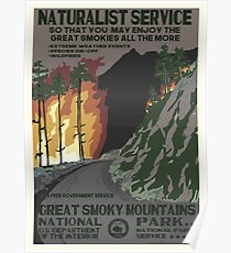 Nationalparks 2050: Great Smoky Poster